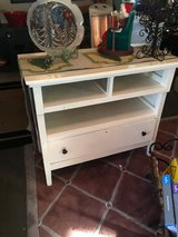 Small dresser solid wood one drawer 36 inches wide 19 inches deep 33 inches tall in The Woodlands, Texas