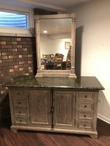 "60"" vanity w/ granite top & mirror in Plainfield, Illinois"