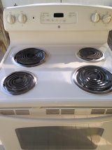 GE Hotpoint electric stove in Baytown, Texas