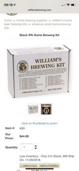 Williams brewing Black Ale kit in Okinawa, Japan