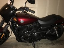 2006 Harley Davidson Street 500 in Fort Lewis, Washington