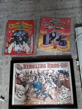 Ringling Brothers  circus  framed poster and 2 souvenir  programs in Algonquin, Illinois