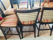 Bassett 9pc Counter Height table/chairs/bar stools in Baytown, Texas