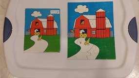 Barn and Animal puzzle - 25 pieces in St. Charles, Illinois