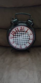 Houndstooth clock in Fort Rucker, Alabama
