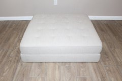 Beige Ottoman -Low profile in Houston, Texas