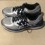 Men's Asics GT-2000 Running Shoes Silver/Blue/Black Size 8 Excellent in Fairfield, California