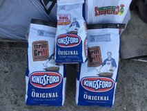 Charcoal briquettes in 29 Palms, California