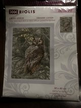 NEW- eagle owl Cross stitch in Houston, Texas