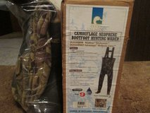 DUCKS UNLIMITED CAMO WADERS-BRAND NEW IN BOX-NEVER USED in Yorkville, Illinois