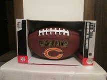 CHICAGO BEARS FULL SIZE FOOTBALL W/TEE - NEW IN BOX in Yorkville, Illinois