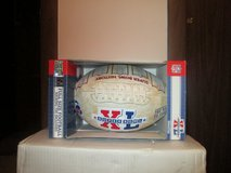 SUPER BOWL XL FULL SIZE FOOTBALL W/TEE - NEW IN BOX in Yorkville, Illinois