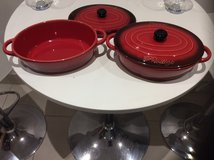 PRADEL PRIVELEDGE STONEWARE COCOTTE  CASSEROLE DISHES in Lakenheath, UK
