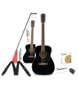 new in box !!!   Fender CC-60S Concert Acoustic Guitar Pack With 3 Free Months Fender Play Black in Fort Leonard Wood, Missouri