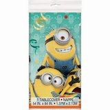 """Despicable Me """"MINIONS"""" Rectangular Plastic Happy Birthday Table Cloth~NEW in Kingwood, Texas"""