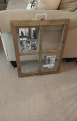 17 in X 22 in WINDOWPANE COLLAGE FLOAT FRAME WEATHERED WOOD FRAME in Plainfield, Illinois