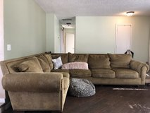 Large Down Feather Couch in 29 Palms, California