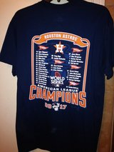 Astros 2017 World Series t-shirts in Houston, Texas