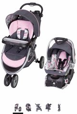 Infant Girl Travel system in Grafenwoehr, GE