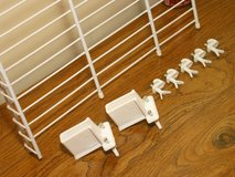 """Five 36x16"""" Metal Wire Shelving Shelves Shelf with Wall Anchors - ClosetMaid in Bartlett, Illinois"""