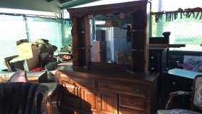 Real wood all dresser in 29 Palms, California