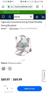 baby swing in DeRidder, Louisiana