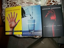 Book set of three by same author Augusten Bourroughs in Ramstein, Germany