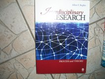 Interdisciplinary Research: Process and Theory Cover Allen F. Repko in Ramstein, Germany