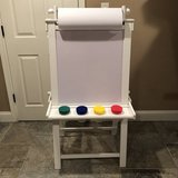 Land of Nod White Wood Art Easel in Naperville, Illinois
