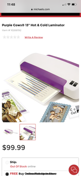 NEW Laminator (heat / cold) in Baytown, Texas
