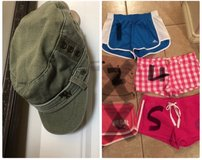 Hollister, Pink, Adidas Shorts & Roxy hat in Fairfield, California