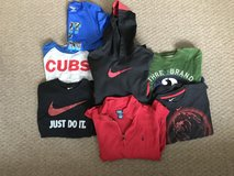Boy's size medium lot long sleeve and short sleeve shirts medium 8, 8-10 in St. Charles, Illinois
