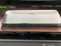 New, champagne Cricut Maker cutter in Houston, Texas