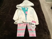Girls 3 piece outfit - 12 months - nwt in Orland Park, Illinois