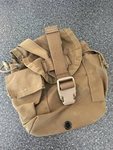 USMC CIF Issued Canteen Pouches Coyote in Oceanside, California