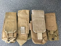 USMC Coyote Tan Brown Rifle Magazine Pouches Molle in Oceanside, California