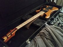 Custom built Rickenbacker bass in Yucca Valley, California