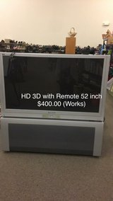 HD 3D with Remote 52 inches (Works) in Fort Leonard Wood, Missouri