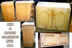 Set of NICE MIX & MATCH CABINETS in Ruidoso, New Mexico