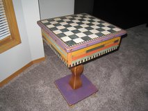 Vintage Shoestring Creations Game Table in Naperville, Illinois