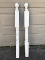 2 Wooden Decorative Posts in Spring, Texas