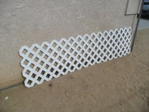 ^^  Plastic Lattice Panels  ^^ in Yucca Valley, California