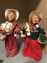 2 Byers Choice Lady Christmas Carolers in Westmont, Illinois