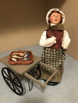 Byers Choice Christmas Fish Monger with Cart in Oswego, Illinois