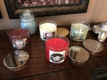 Bath & Body Works Christmas 3 Wick Candles in Pasadena, Texas