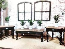 Fearmhouse Rustic industrial tables in Naperville, Illinois