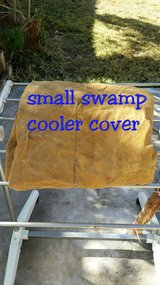 small swamp cooler cover in Fort Bliss, Texas