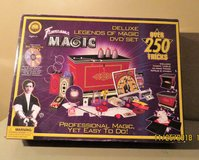 Fantasma Deluxe Legends of Magic DVD Set Over 250 Tricks in Joliet, Illinois