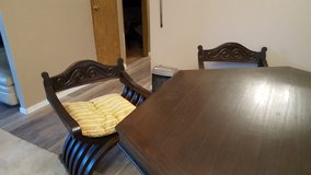 Dining Room Table with 6 Chairs in Silverdale, Washington