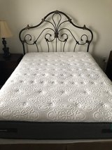 Ashley's Queen Metal Bed w/ Mattress in Fort Jackson, South Carolina